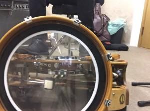 ワンマンバンド用の足で完結できるドラム