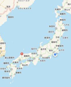 男三人の西日本ツアー島根県編