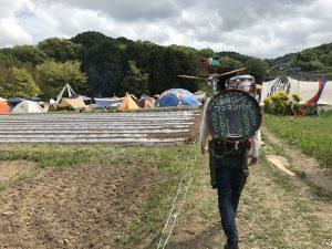大道芸人1年目 年80本ライブ