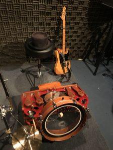日本で唯一のFarmer foot drumsプレイヤー