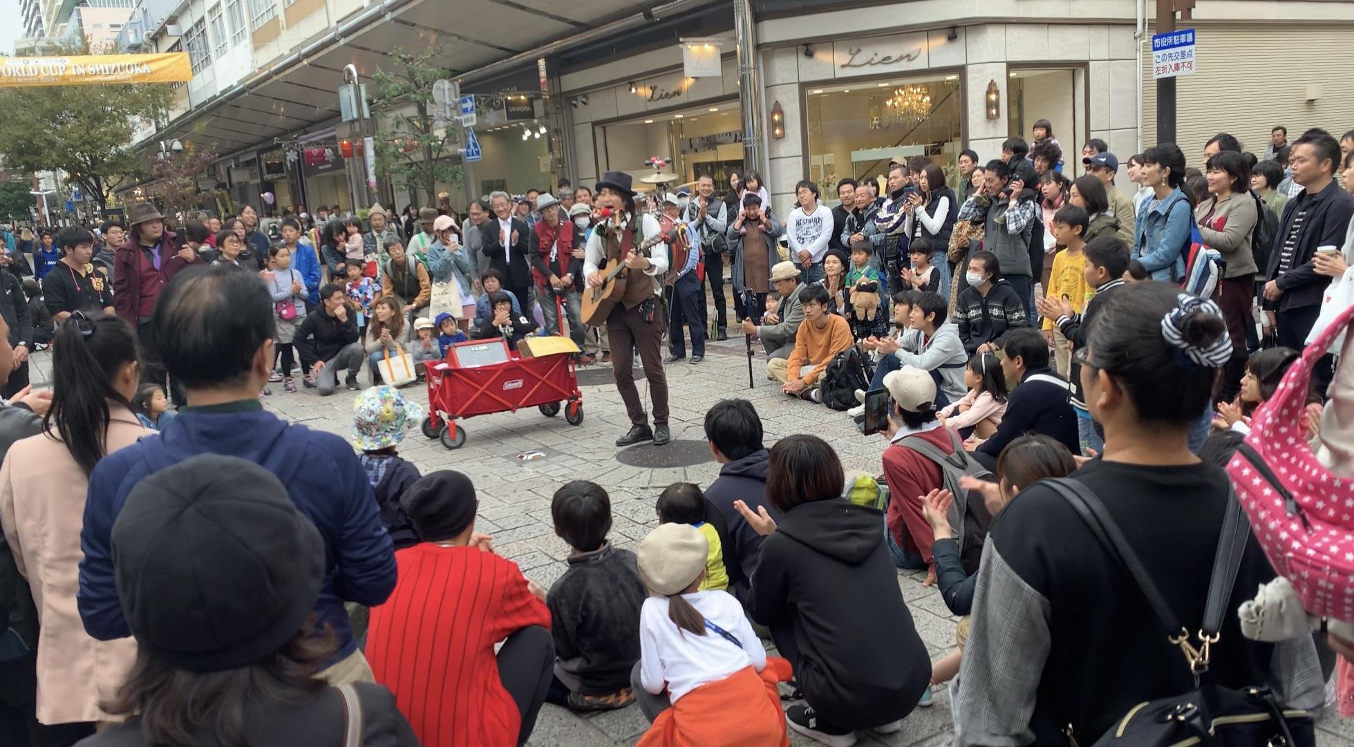 大道芸ワールドカップin静岡 2018