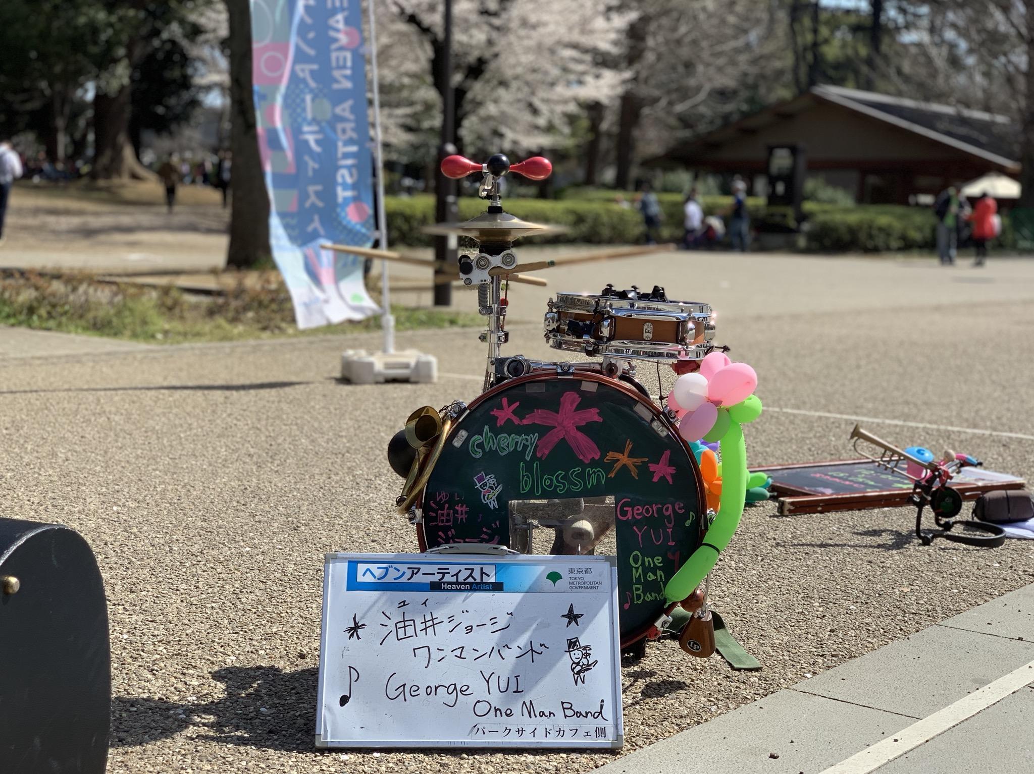 上野公園はまだまだ花見