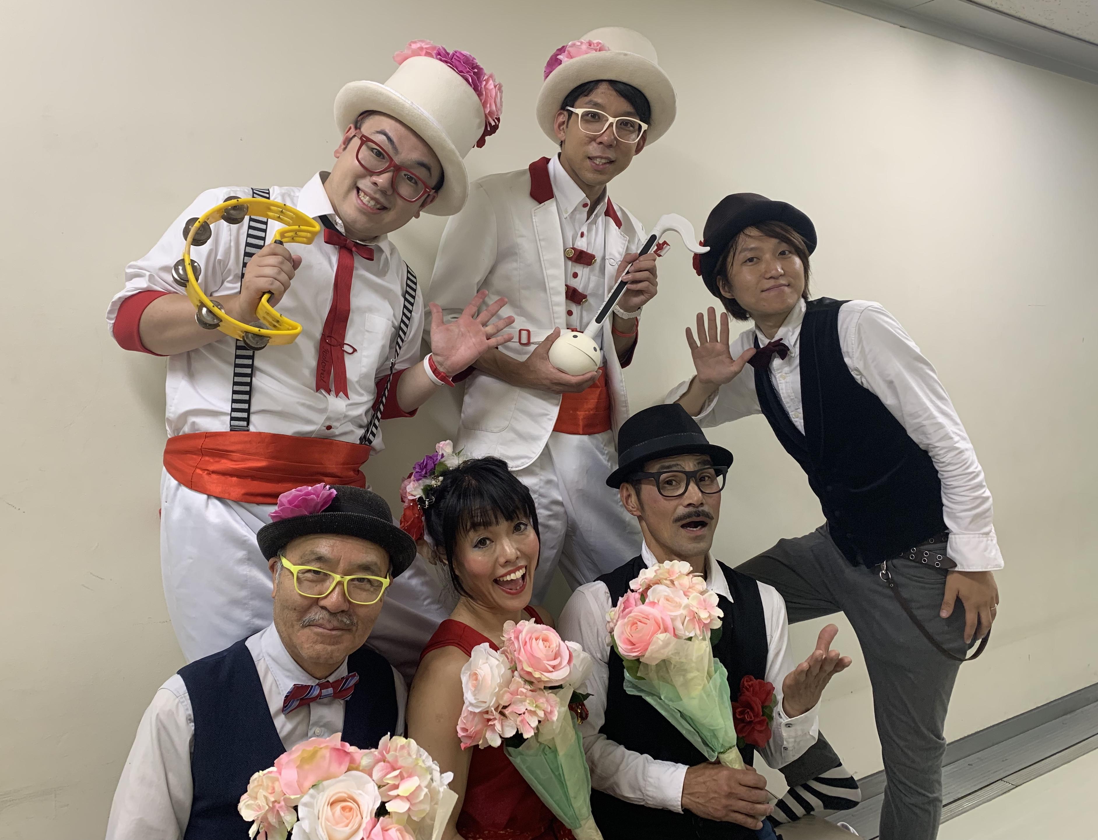 初受賞!!ふくやま大道芸2019